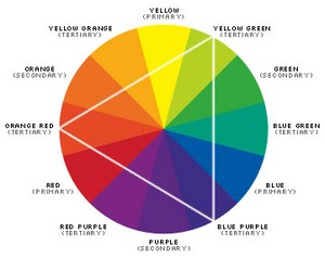 Best colors for a web site color wheel - What colour goes with lilac ...